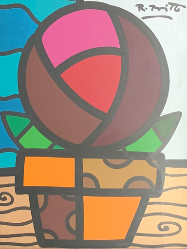 Romero BRITTO - Painting - S/T (Untitled)