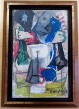 Gilles BALLINI - Pintura - Composition abstraite