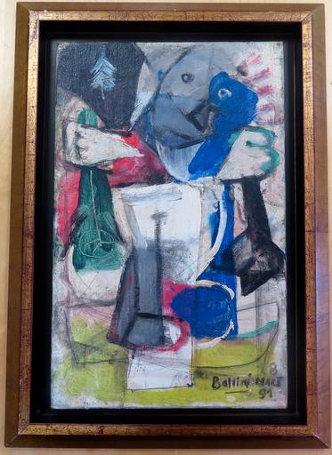 Gilles BALLINI - Pittura - Composition abstraite