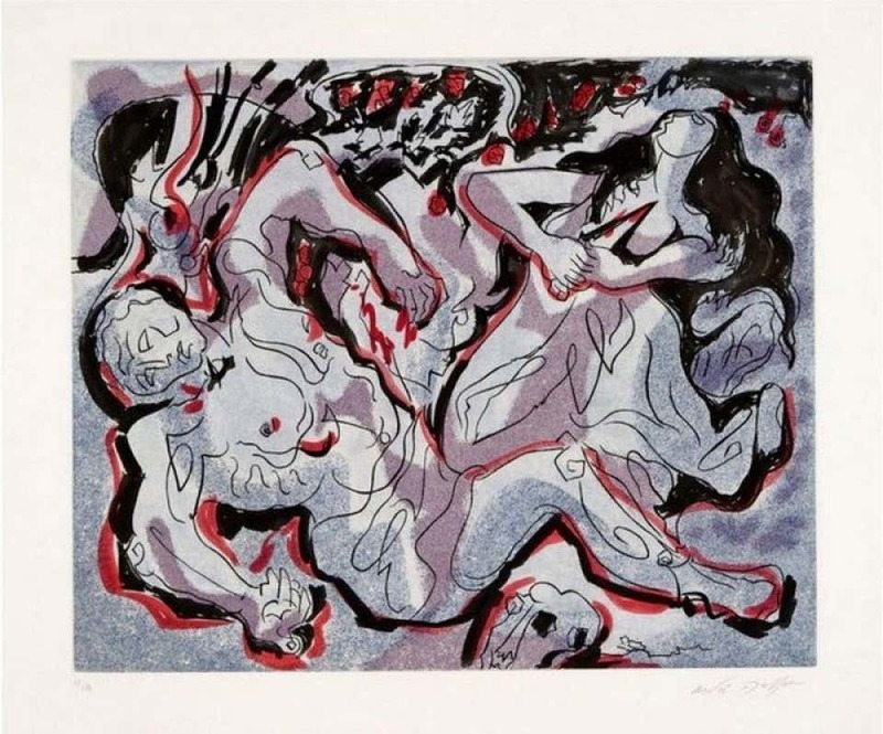 André MASSON - Print-Multiple - Pyramus und Thisbe