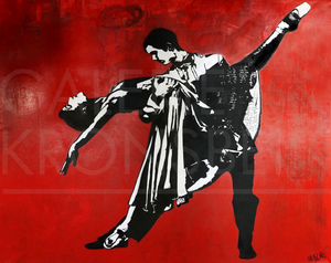 BLEK LE RAT - Painting - The Last Tango in Paris