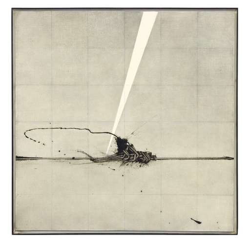 Emilio SCANAVINO - Peinture - Dall'alto