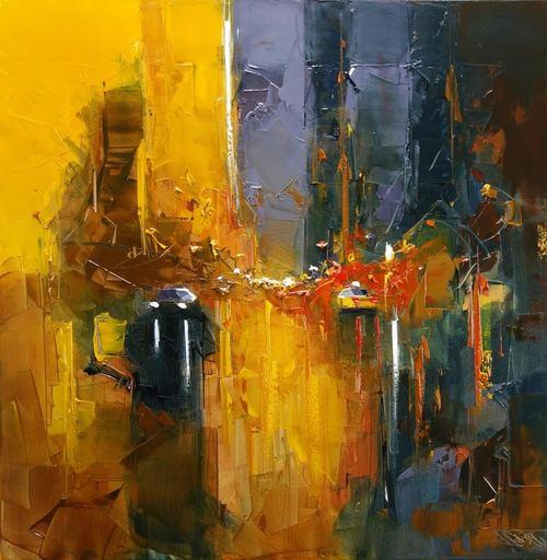Daniel CASTAN - Painting - Crépuscule