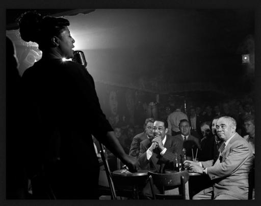 Herman LEONARD - 照片 - Duke Ellington,  Ella Fitzgerald,  Benny Goodman...1949
