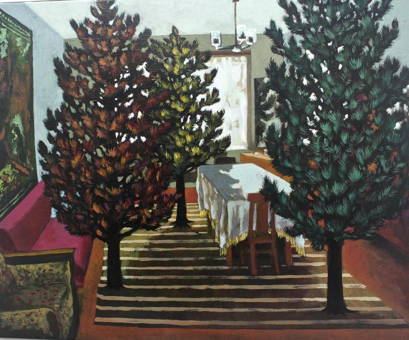 Damir MURATOV - Pittura - Three Pines