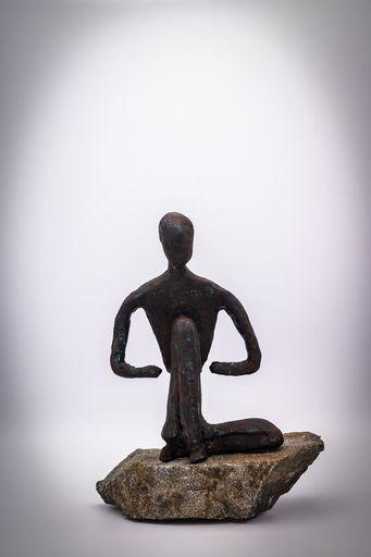 Alain OLIVIERI - Sculpture-Volume - Yogi