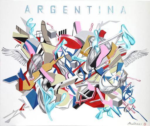 Iryna BEREZHKO & BONDERO - Painting - Argentina    (Cat N° 3557)