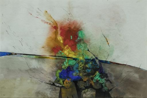 Luciano GASPARI - Peinture - Senza titolo
