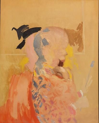 Jorge CASTILLO - Pintura - autoportrait