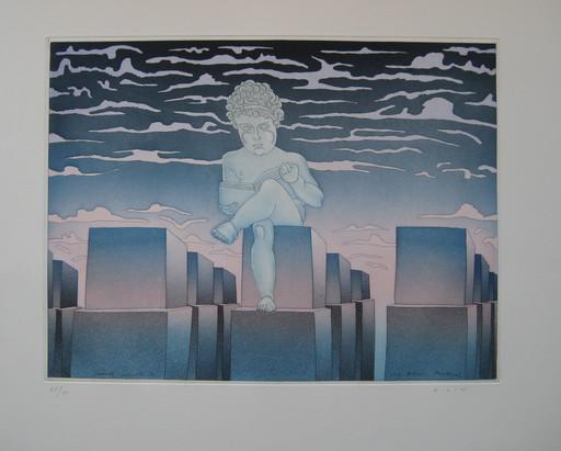 Jean-Michel FOLON - Print-Multiple - GRAVURE SIGNÉE AU CRAYON NUM/90 HANDSIGNED NUM90 ETCHING