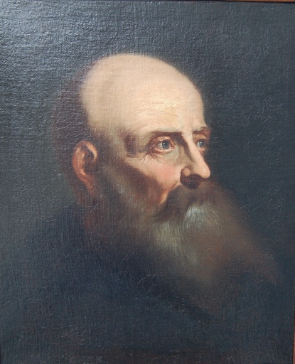 Francesco FRACANZANO - Painting - Portret of a man