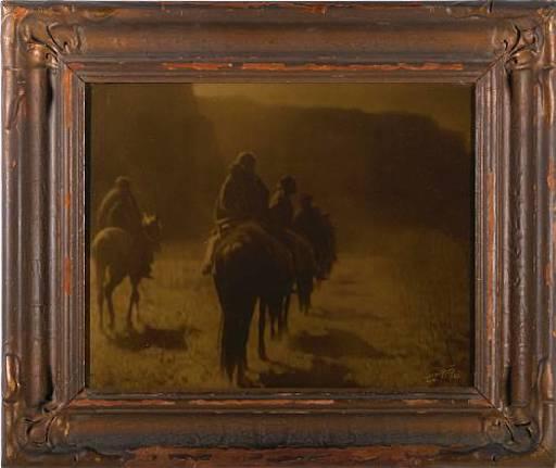 爱德华·柯蒂斯 - 照片 - The vanishing race-Navaho