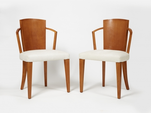 Pierre CHAREAU - Paire de chaises modèle MF275
