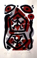 A.R. PENCK - Estampe-Multiple - Untitled 5