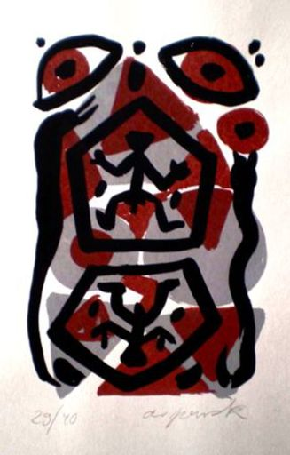 A.R. PENCK - Print-Multiple - Untitled 5