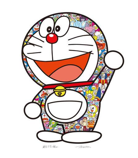 Takashi MURAKAMI - Print-Multiple - Doraemon: Hip Hip Hurrah!
