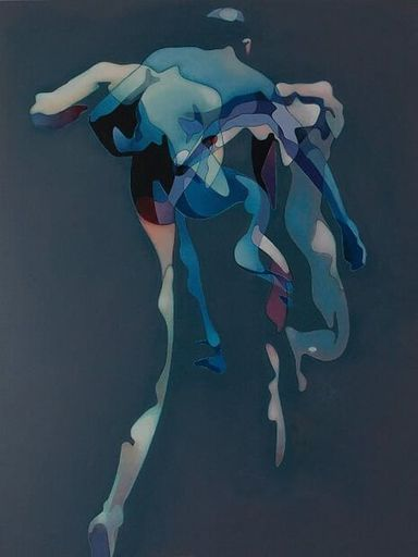 Milburn FOSTER - Peinture - Jump