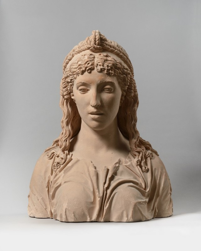 Aimé François D. MILHOMME - Sculpture-Volume - Pythia, Oracle of Delphi