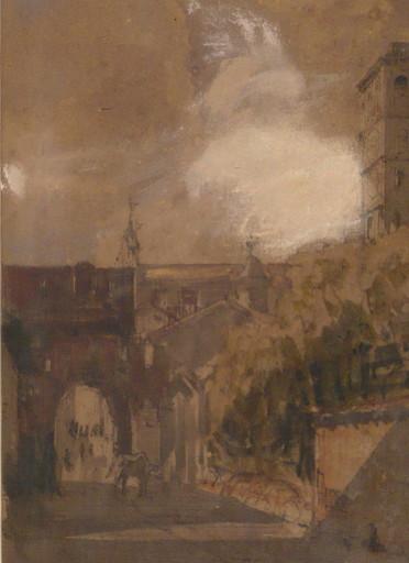 François Victor SABATIER - 水彩作品