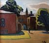 Valeriy NESTEROV - Peinture - The yard on Sergiy Radonezhskiy Street. Moscow