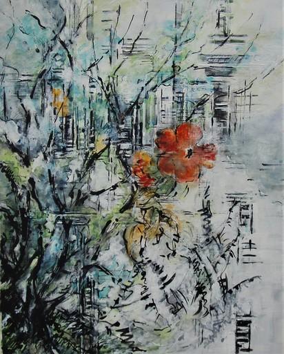 Nathalie GRANGE - Pittura - MUR ENCHANTE II