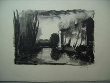 Maurice DE VLAMINCK - Print-Multiple - Crépuscule