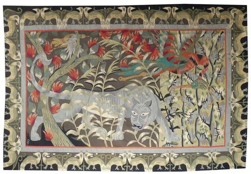 Bernard POMEY - Tapestry - la bête