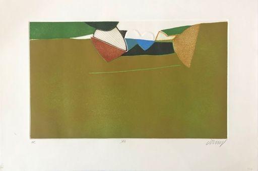 Bertrand DORNY - 版画 - Paysage n°5