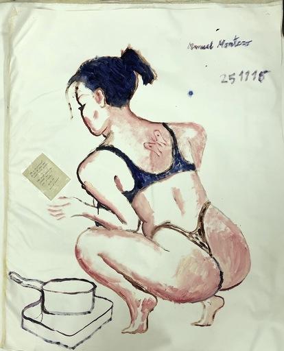 Manuel MONTERO - Peinture - LAURE 1