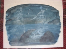 Eugène GABRITSCHEVSKY - Drawing-Watercolor - SANS TITRE