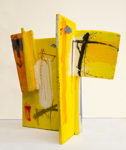 Enzo ESPOSITO - Painting - senza titolo