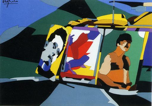 Ugo NESPOLO - Gemälde - James Dean