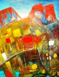 Didier DOIGNON - Pintura -  Le taureau
