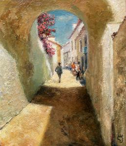 Levan URUSHADZE - Peinture - Sunny day