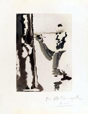Pablo PICASSO - Print-Multiple - Peintre au travail