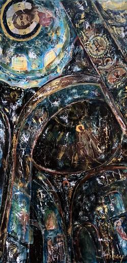 AMEY - Painting - Saint sauveur le sang versé intérieur