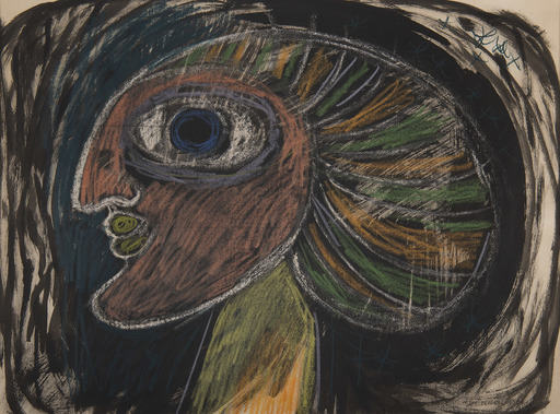 Victor BRAUNER - Drawing-Watercolor - Sans titre