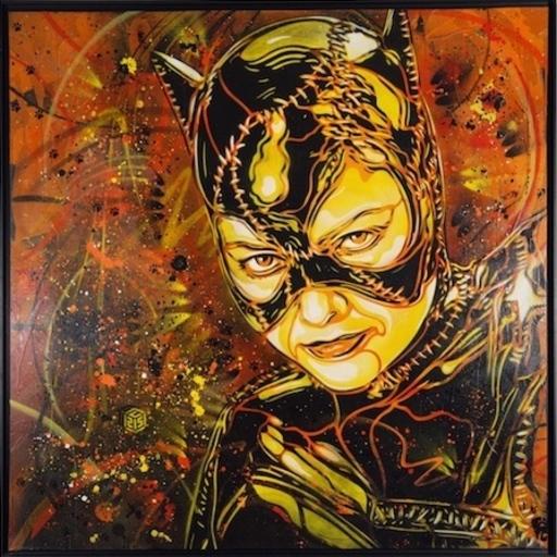 C215 - 绘画 - Catwoman