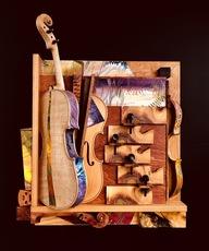 "Shijo Alan BURNER - Gemälde - Concerto Pour Violon en ""E"""