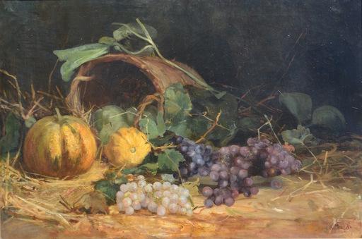 Alfred Alexandrovich GIRV - Pintura - Still-life with a mask