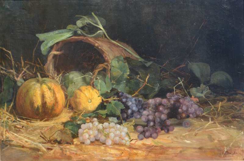 Alfred Alexandrovich GIRV - Painting - Still-life with a mask
