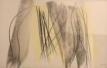 Hans HARTUNG - Drawing-Watercolor - P8-1986-E5
