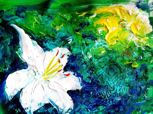 Vanecha ROUDBARAKI - Gemälde - Lilium