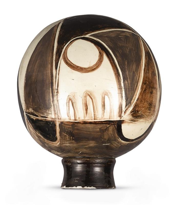 Pablo PICASSO - Ceramic - Nature morte sur une sphère