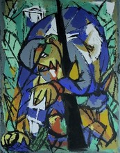 Marcel JANCO - Print-Multiple - Wounded Soldier