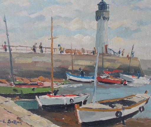 Etienne BELLAN - Gemälde - Le phare