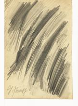 Cy TWOMBLY - Dessin-Aquarelle - Untitled