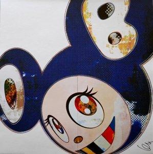 Takashi MURAKAMI - Grabado - And Then 3000 (Blue)