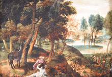 Paul BRIL - Painting - Good Samaritan