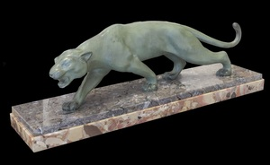 Salvatore MELANI - Sculpture-Volume - Bronze Panther